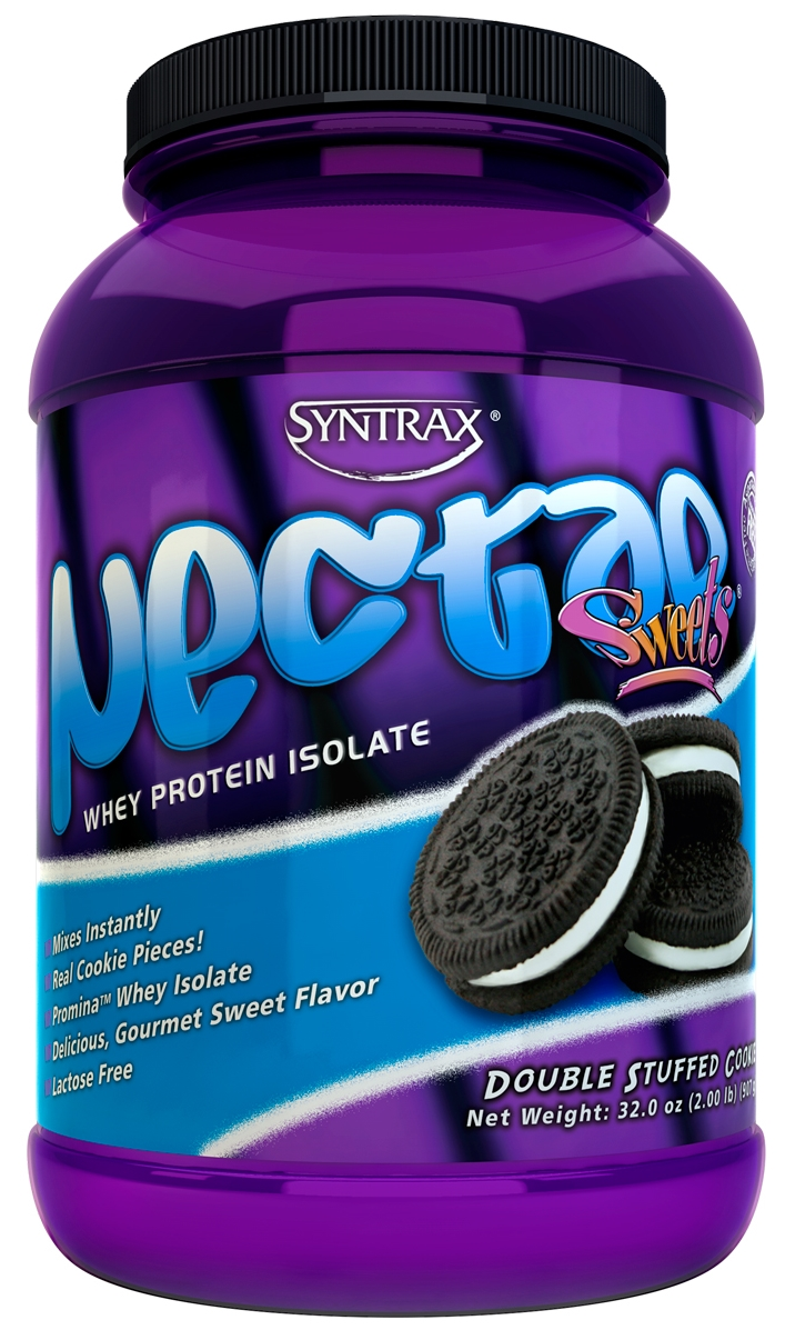 Nectar Whey Protein Isolate ( 2lbs / 907g ) - Syntrax - Double Stuffed Cookies ( Cookies ) Double Stuffed Cookies ( Cookies )