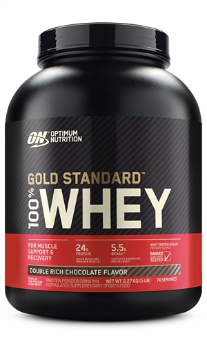 032254584 100% Whey Protein Gold Standard (5lbs 2.270g) Optimum Nutrition ...